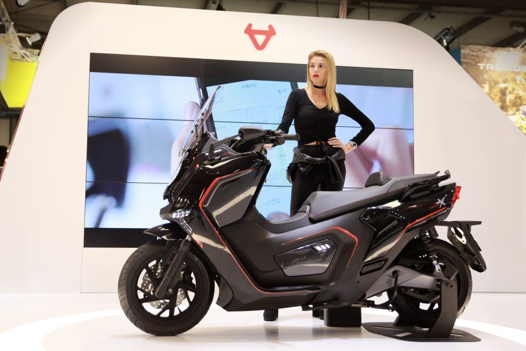 niu unveils four new smart escooters at eicma 2017 speed. Black Bedroom Furniture Sets. Home Design Ideas